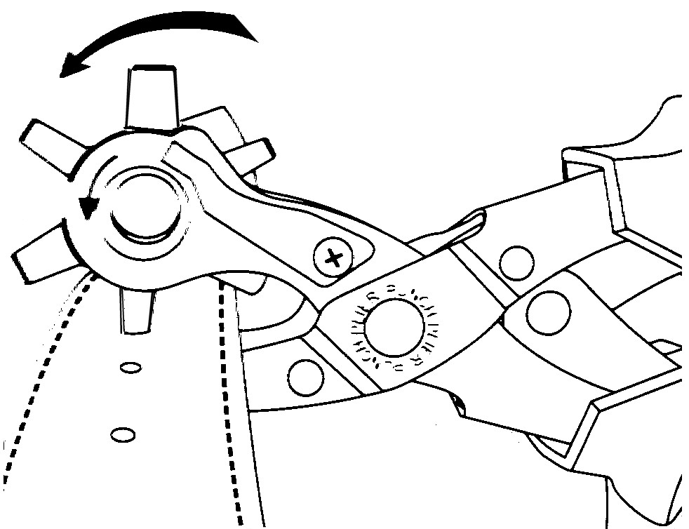 Leather Hole Punch Instructions