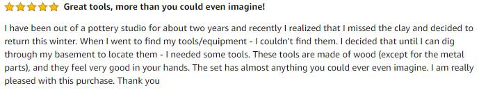 Clay Tools Reviews 1