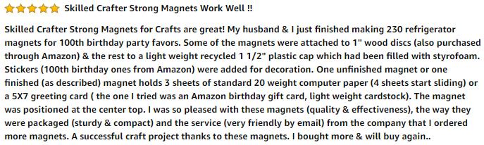 Disc Magnet Reviews