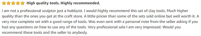 Pottery Tools Reviews